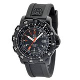 Luminox 8821.KM Recon Pointman Black, Rubber Band, With Multi Color Accents