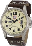 Luminox Field 42mm 1827 Ivory Dial Brown Leather