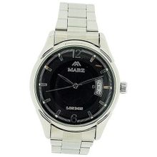 Mab London Automatic Gents All Stainless Steel Black Dial Calendar/Date