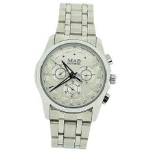 Mab London Automatic Stainless Steel Silver Dial Calendar/Date Gents Dress
