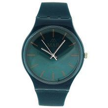 Mab London Gents- Blue Analogue & Blue Plastic Strap