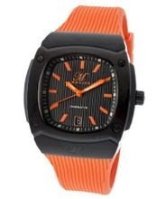 uMagico Dominator Black Textured Dial Orange Silicone