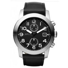 Marc by Marc Jacob Larry Black Dial Black Leather MBM5033