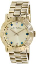 Marc by Marc Jacobs Amy Dexter Gold dial Gold-tone Ladies MBM3215
