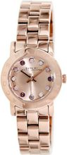 Marc by Marc Jacobs Amy Dexter Rose Dial Rose Gold-tone Ladies MBM3219