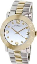 Marc by Marc Jacobs Amy Silver Dial Two Tone Stainless Steel - MBM3139