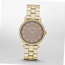 Marc by March Jacobs Baker Gold Tone Grey Dial