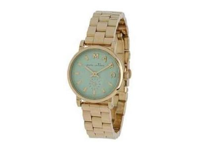 Marc by March Jacobs Baker Mini Gold Tone Mint Dial