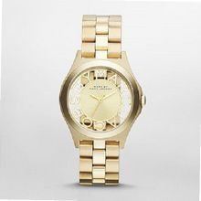 Marc by March Jacobs Henry Skeleton Gold Tone Link