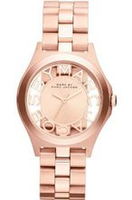 Marc by March Jacobs Henry Skeleton Rose Gold Tone Link