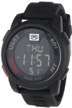 Marc Ecko E07503G1 20-20 Digital Black Resin Strap