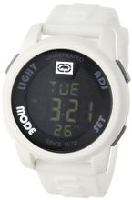 Marc Ecko E07503G2 20-20 Digital White Resin Strap