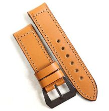 Pre-V by Mario Paci in Tan with PVD buckle with buckle 26/24 125/80