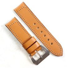 Pre-V by Mario Paci in Tan with sewn in Stainless Steel buckle 26/24 125/80