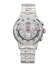 Marvin Chronograph ETA G15 Silver Dial Swiss Made Stainless Steel