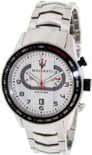 Maserati Corsa R8873610001 Silver Stainless-Steel Analog Quartz with Silver Dial