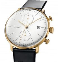 max bill by junghans max bill by junghans max bill Chronoscope gold