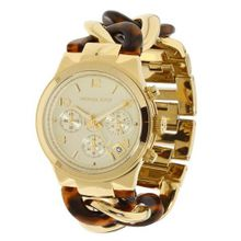 Michael Kors Chain Link Acrylic Gold-tone Ladies MK4222