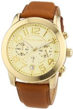 Michael Kors Champagne Dial Brown Leather Ladies MK2251
