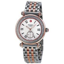 Michele Caber Diamond Mother of Pearl Dial Two-Tone Stainless Steel Ladies MWW16A000067
