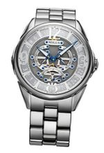 Milus - Tirion Triretrograde- Stainless Steel Automatic 42mm
