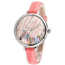MINI Korean fashion student waterproof luxury es / zebra es Pink