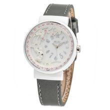 MINI /Korean white ceramic / import leather strap /small white rabbit