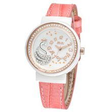 MINI new ceramic / Korean white ceramic / import leather strap