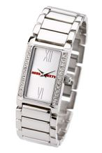 Miss Sixty Ladies Jet Set Silver Bracelet With Silver Dial