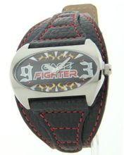 Cage Fighter Genuine Leather Cf332008bsbk
