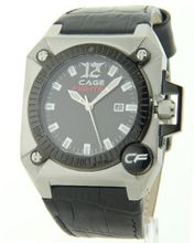 Cage Fighter Leather Date Cf332009bsbk