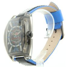 Cage Fighter Leather Sporty Cf332002blbk