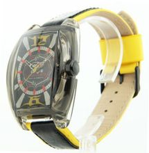 Cage Fighter Leather Sporty Cf332002ylbk