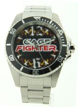 Cage Fighter Silver Stainless Steel Cf332016ssbk