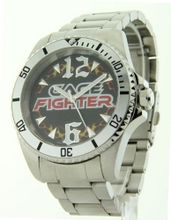 Cage Fighter Silver Stainless Steel Cf332016sssl