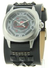 Cage Fighter Wide Genuine Leather Band Cf332010bsbk