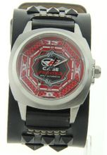 Cage Fighter Wide Genuine Leather Band Cf332010bsrd