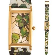 Fashion for  Green Bracelet Quartz Louis Comfort Tiffany Grapevine Design