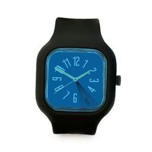 Modify es Unisex MW0008 Mini Black Strap Blue Face