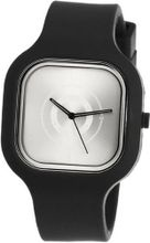 Modify es Unisex MW0011 Black Strap Silver Face