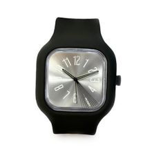 Modify es Unisex MW0012 Mini Black Strap Silver Face