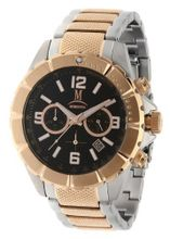 Momentus 2 Tone Gold Plated Stainless Steel Band Chrono FS281S-04RS