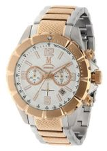 Momentus 2 Tone Stainless Steel Chronograph Casual Wrist FS281S-02RS