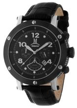 Momentus Antiallergic Leather Band Chronograph TM186S-04BS