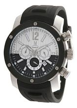 Momentus Black Rubber Band Black White Dial Chronograph FS295S-04RE