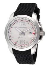 Momentus Black Rubber & White Dial Ion Plated Bezel FS315S-02RB