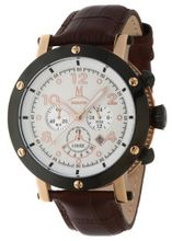 Momentus Brown Antiallergic Leather Band Chronograph TM186R-02BR