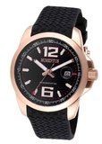 Momentus Stainless Steel with Black Rubber Band & Dial FS315R-04RB