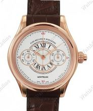 Montblanc Collection Villeret 1858 Grand Chronographe Email Grand Feu