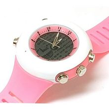 Monte Carlo Lady Pink Digital Display Analogue Ladies Sports F6050
